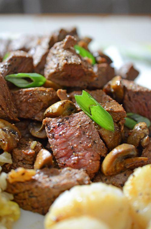 Teppanyaki Steak And Scallops Steak Steak Steak