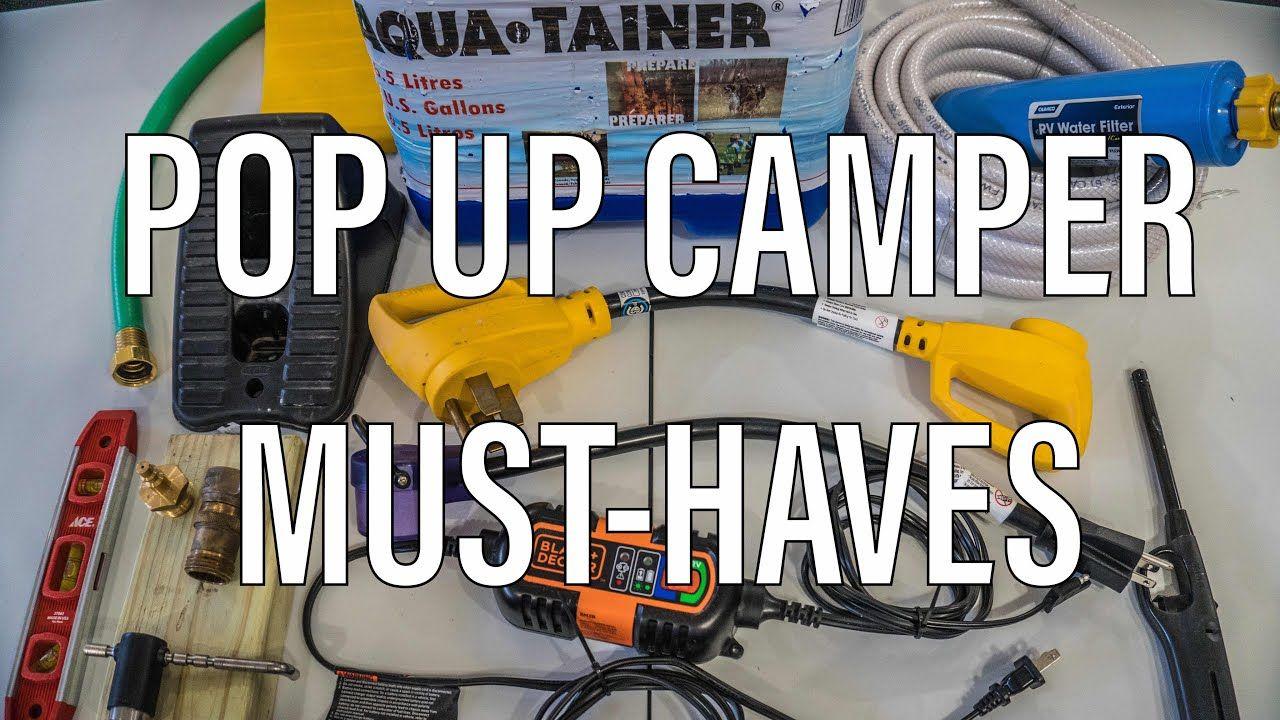 Must Have Pop Up Camper Accessories In 2020 Pop Up Camper Pop Up Camper Accessories Camper Accessories