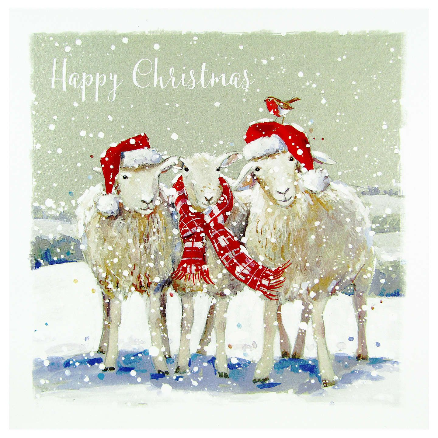 BuyLing Designs Winter Woolies Christmas Card Online at johnlewis ...