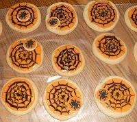 Spiderweb Sugar Cookies #samhainrecipes