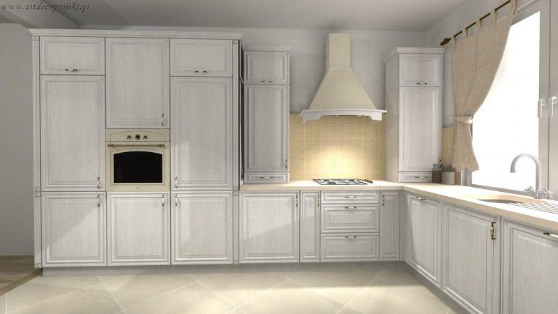 Projekty Kuchni Nowoczesne Meble Kuchenne Na Wymiar Projektowanie I Aranzacja Wnetrz Kuchni Artdecoprojekt Kitchen Cabinets Kitchen Home