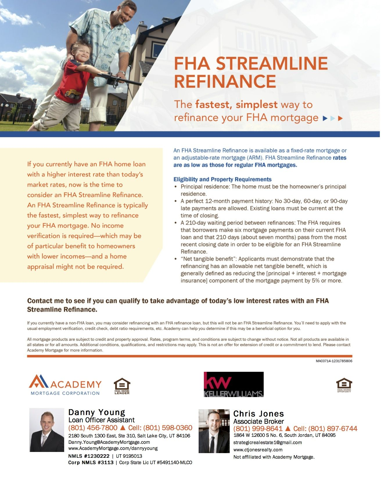 Find Out The Benefits And Eligibility Requirements Of An Fha Streamline Refinance Fha Streamline Refinance Fha Streamline Fha Mortgage