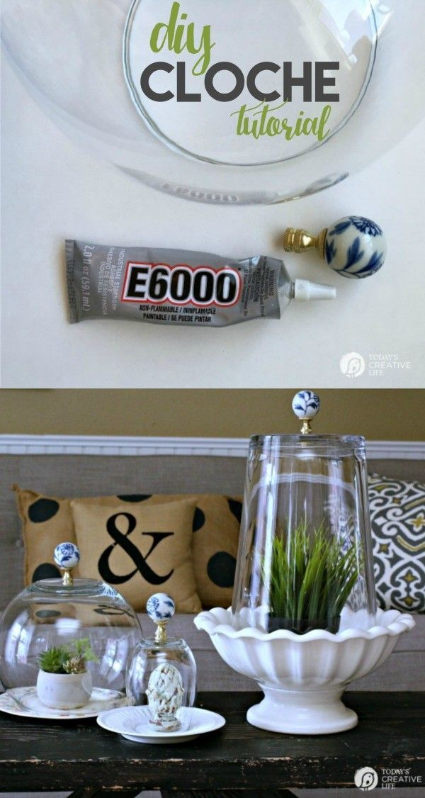 DIY Cloche Jars