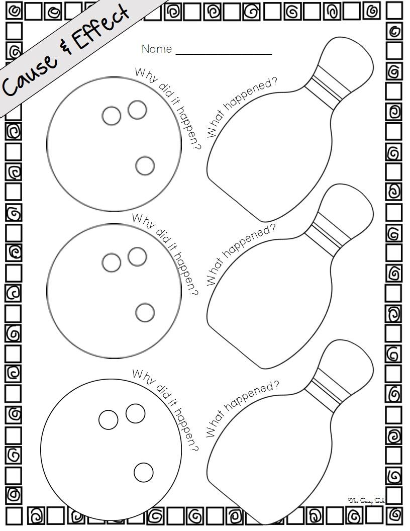 Cause and Effect Activities: Graphic Organizers, Reference