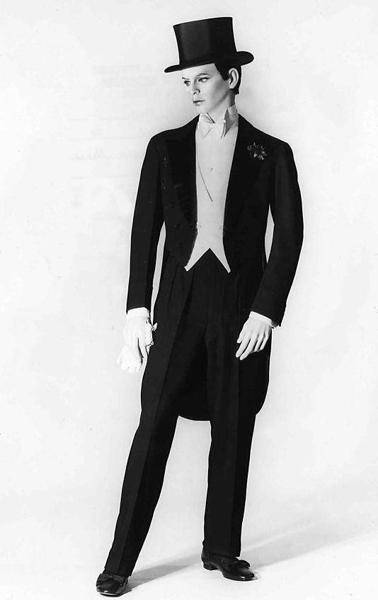 Tuxedo. House of Lanvin. 1927  f961cdd6e1da1