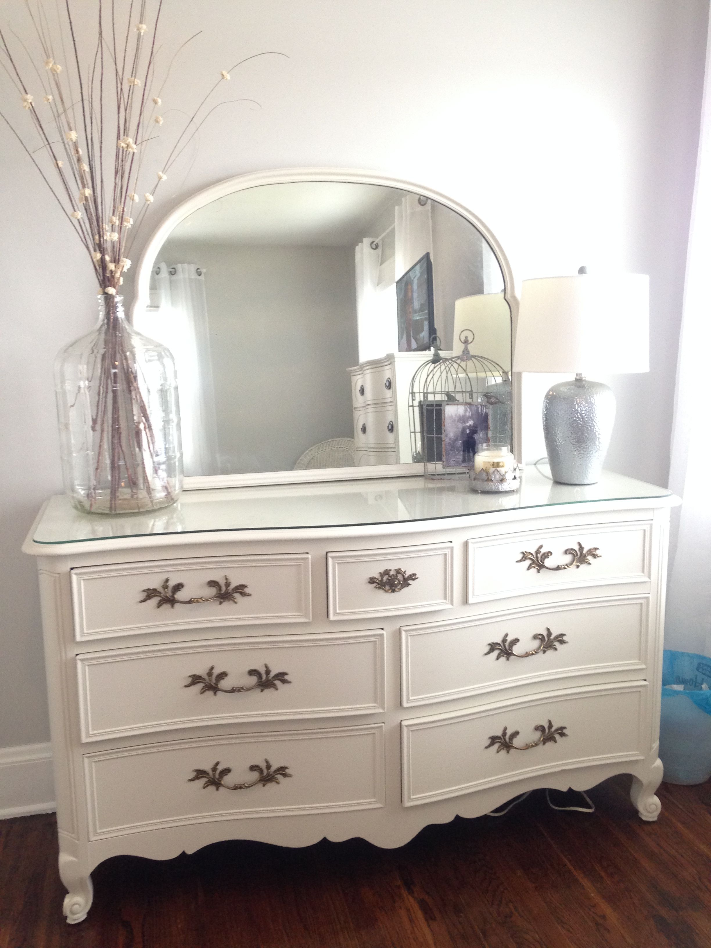 how to clean the dresser i painted with fusion paint