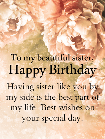 To A Fantastic Sister Happy Birthday Card Birthday Greeting Cards By Davia Birthday Messages For Sister Happy Birthday Messages Happy Birthday Sister Quotes