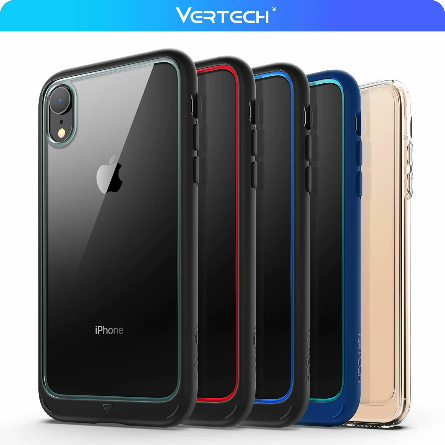 For iphone x xs max xr case clear heavy duty shockproof