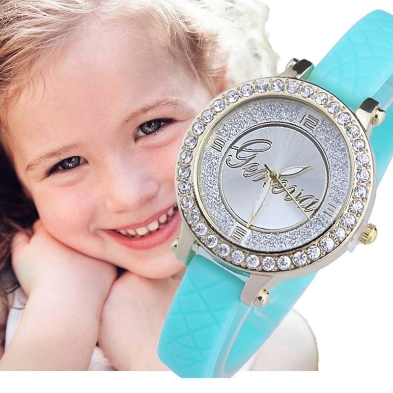Geneva Mini Geneva Kids Crystal Watch
