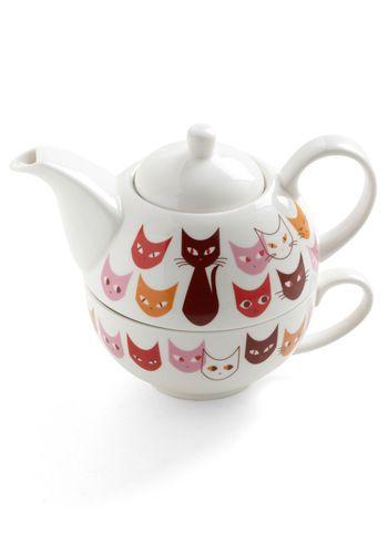 Get in Fe-line Tea Set