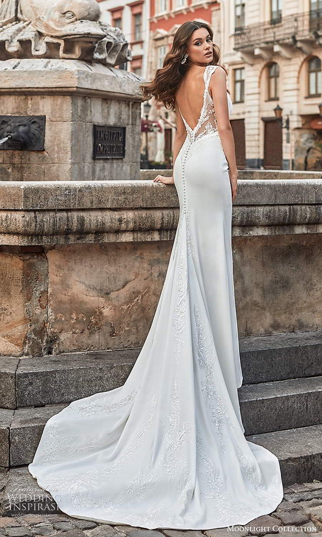 Moonlight Collection Spring 2021 Wedding Dresses Wedding Inspirasi In 2020 Bridal Gowns Mermaid Wedding Dresses Moonlight Bridal