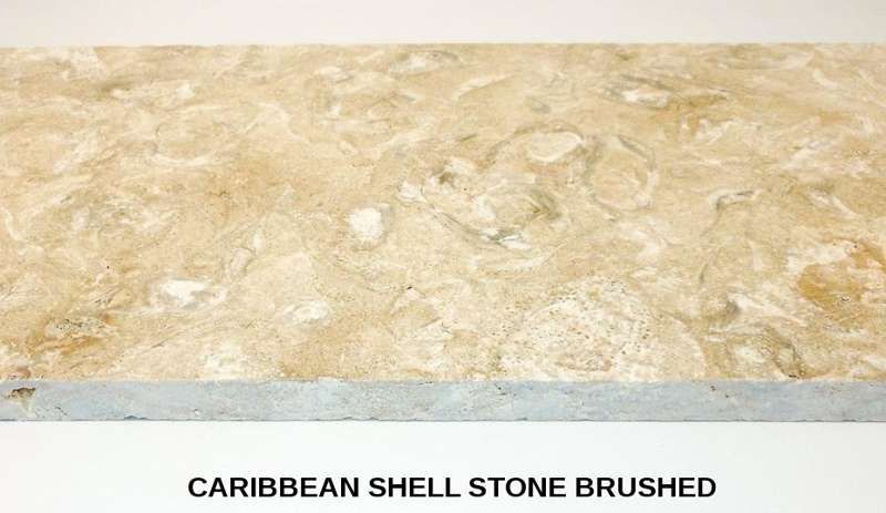 Caribbean Shell Stone Coquina Stone Coral Stone Tiles By