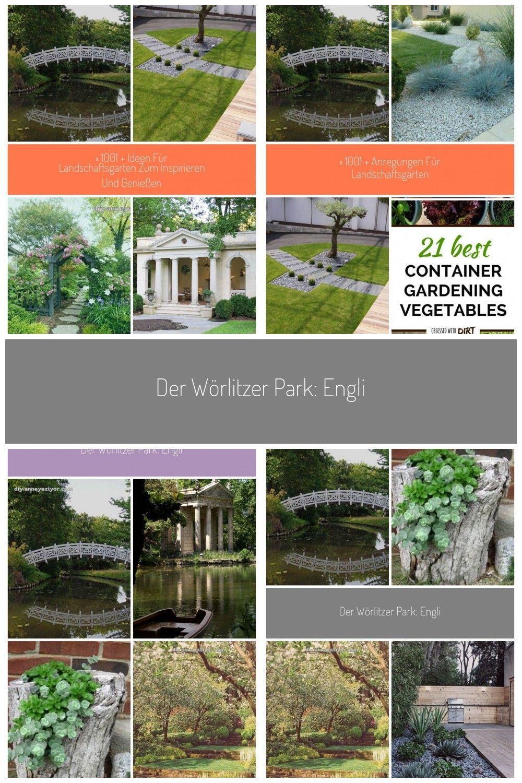 Der Worlitzer Park Englischer Garten Gondelfahrt Amphitheater Und Sogar Ein Amphitheater Der Ein Englischer Garten Go English Garden Garden Park