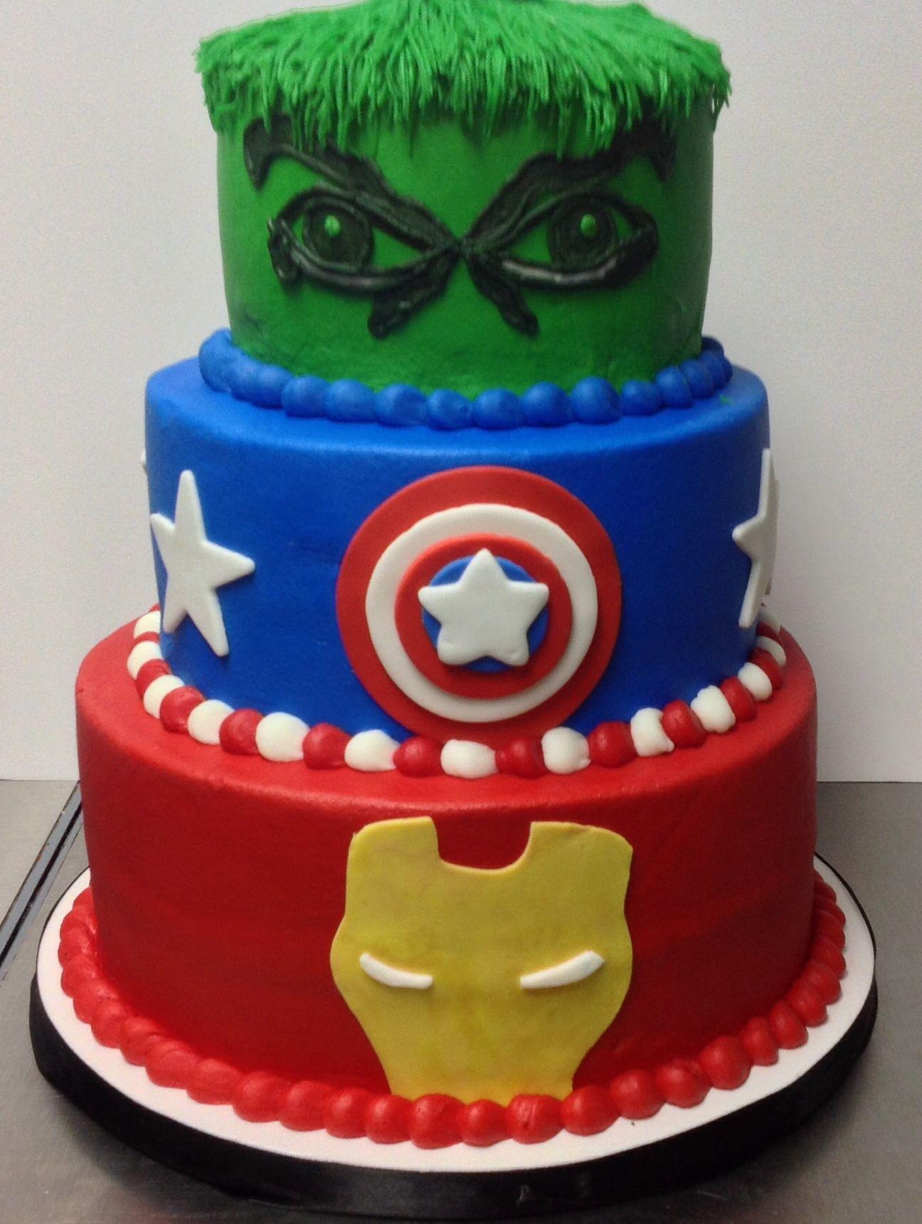 Marvel | Cakes we do | Pinterest | Pasteles dulces, Pastelitos y Dulces