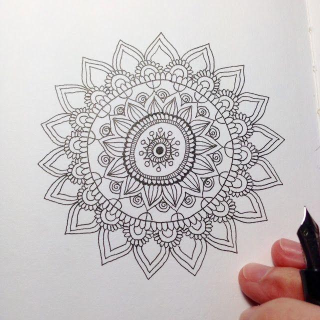 MagaMerlina: How to Draw a Mandala: Tips and Tricks | ghPáginas Para ...