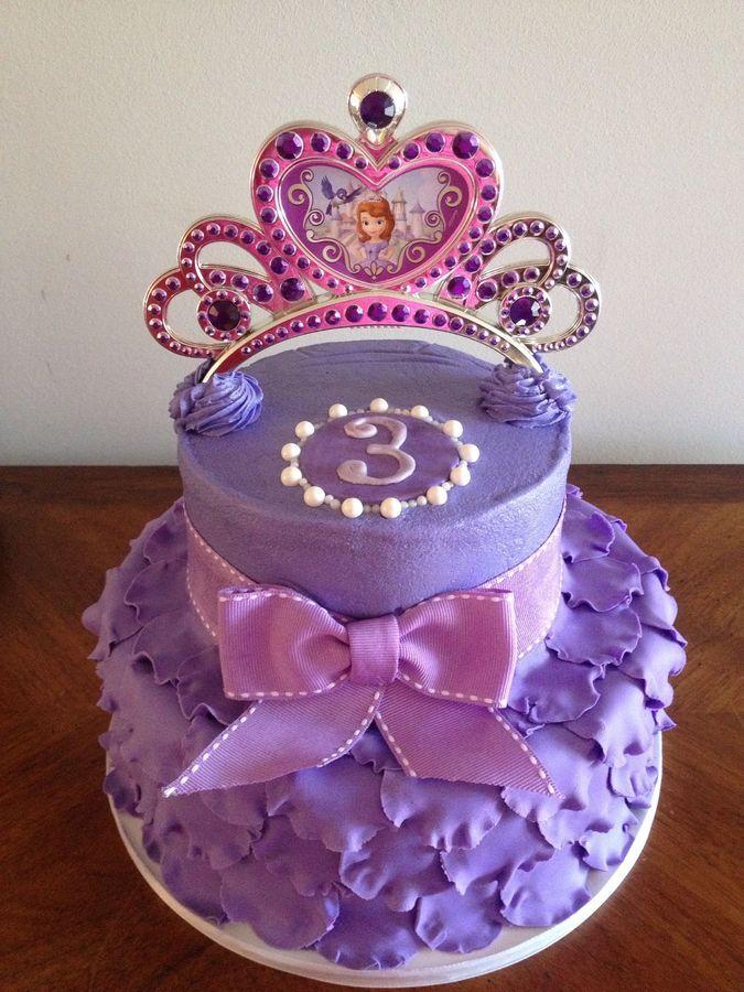 Remarkable Kids Birthday Sofia The First Birthday Cake First Birthday Funny Birthday Cards Online Fluifree Goldxyz
