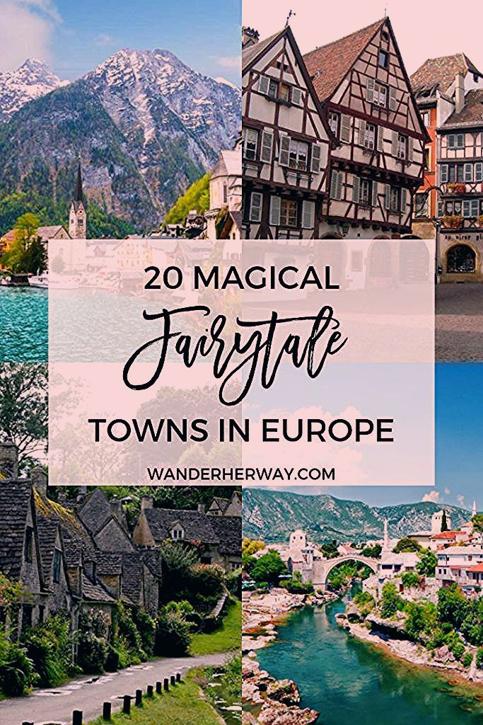 Photo of 20 Magical Fairytale Towns in Europe You Need to Visit