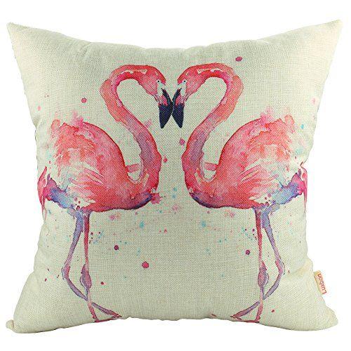 Flamingo Leinen Kissenbezug 25 Schone Flamingo Produkte