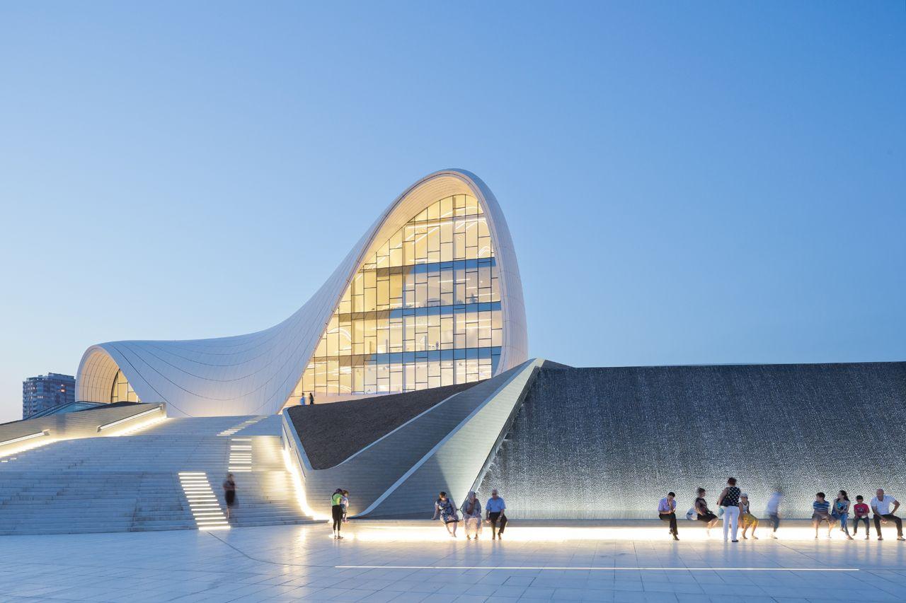 Nice Heydar Aliyev Centre, Baku Building, Azerbaijan   Design By Zaha Hadid  Architects   Heydar Aliyev Centre Building: Baku Architecture