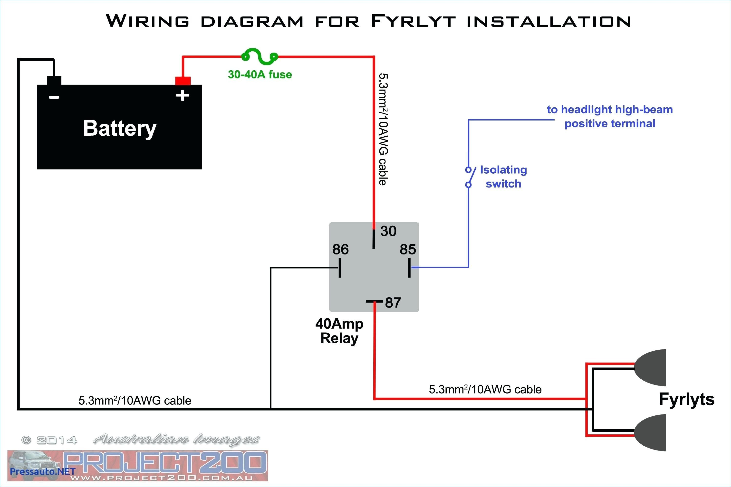 Wiring Diagram For Driving Lights | Wiring Diagram
