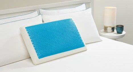 Comfort Revolution Cooling Pillow on Bay Area Mommy - who doesn't love a cool pillow to sleep on! :)