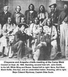 The Sand Creek Massacre 1864 Defeat