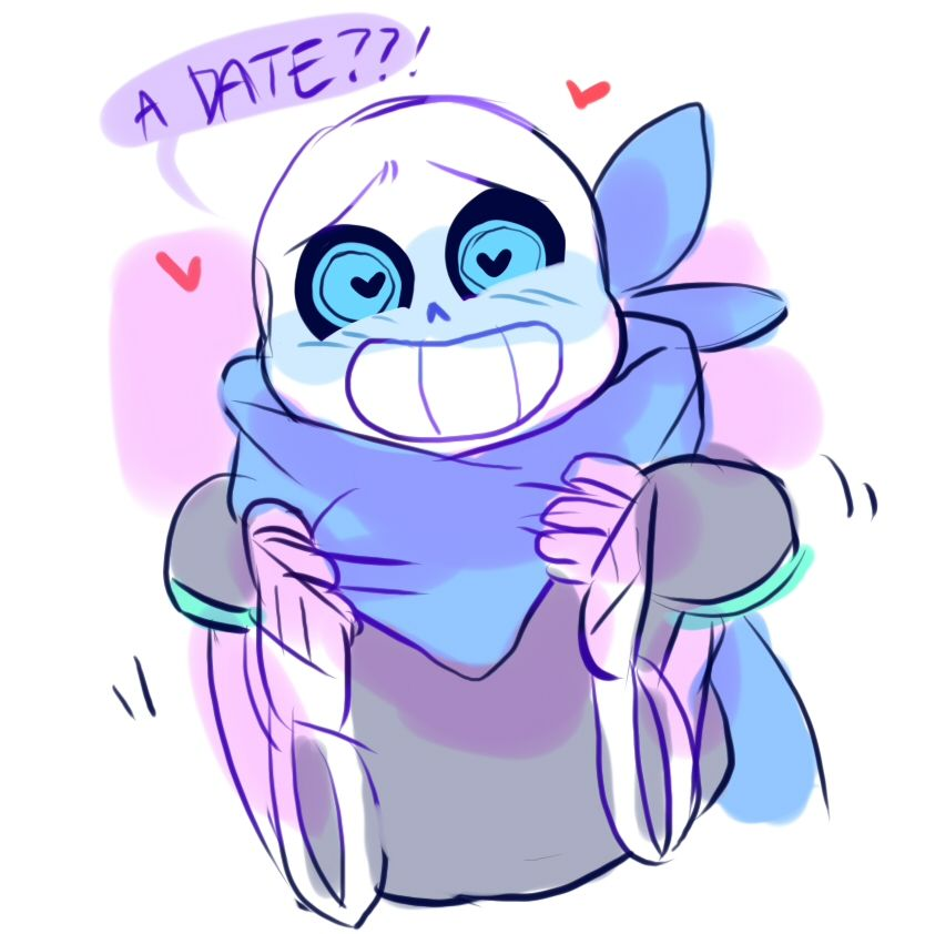 """A date??!"" 