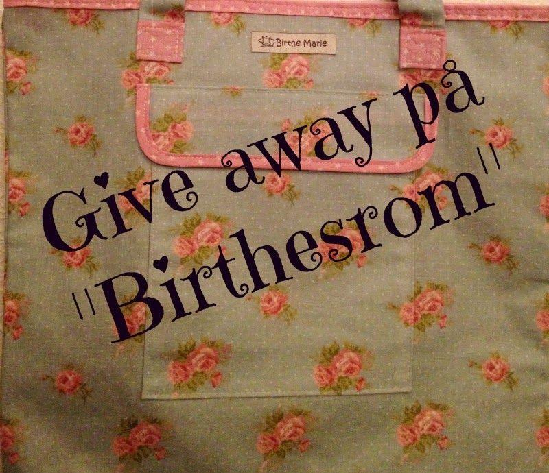 Birthes rom: Give away! Trekkes 1. mars 2015