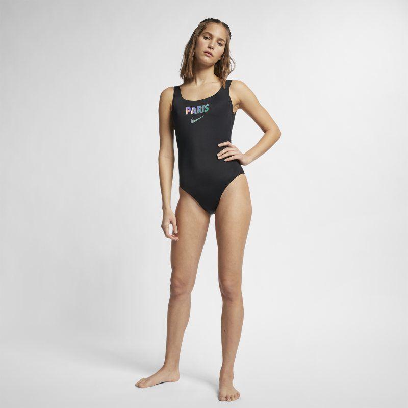 f0366b02b Nike City Series U-Back (Paris) Women's One-Piece Swimsuit - Black ...