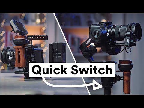 BMPCC 4K / DJI Ronin-S Quick Release Rig - YouTube