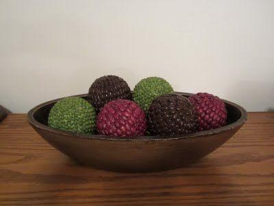 Estas bolas decorativas también las voy a intentar!