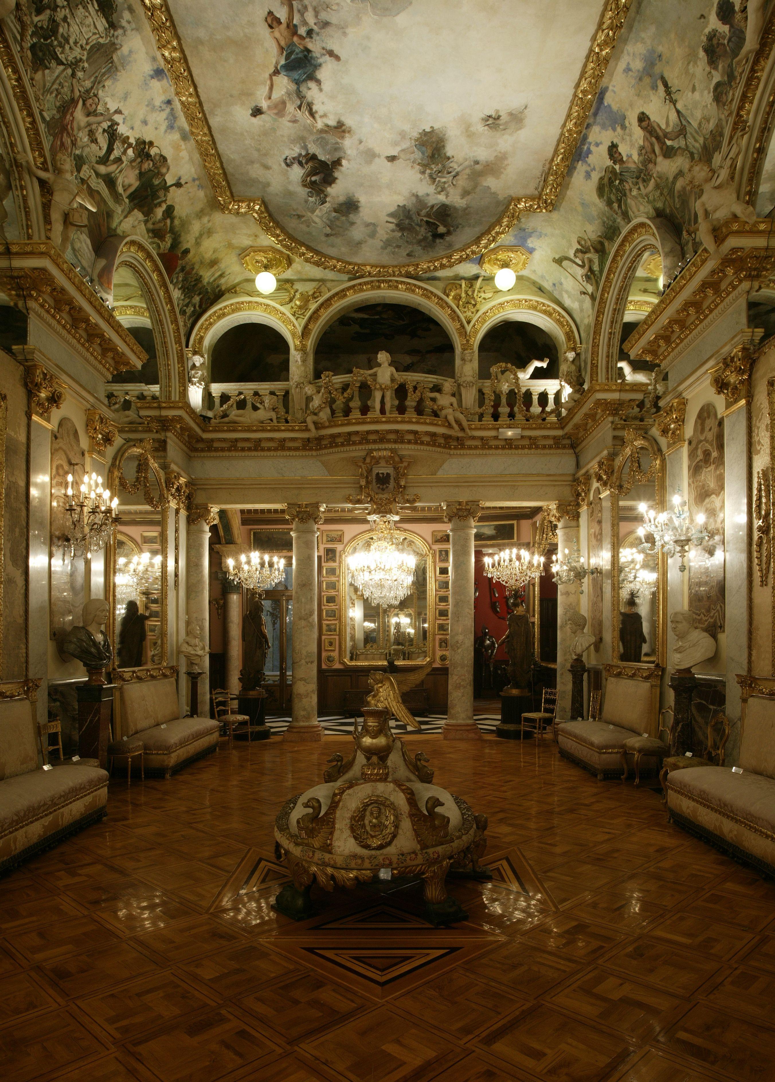 Museo cerralbo sal n de baile los salones del cerralbo for Academias de bailes de salon en madrid