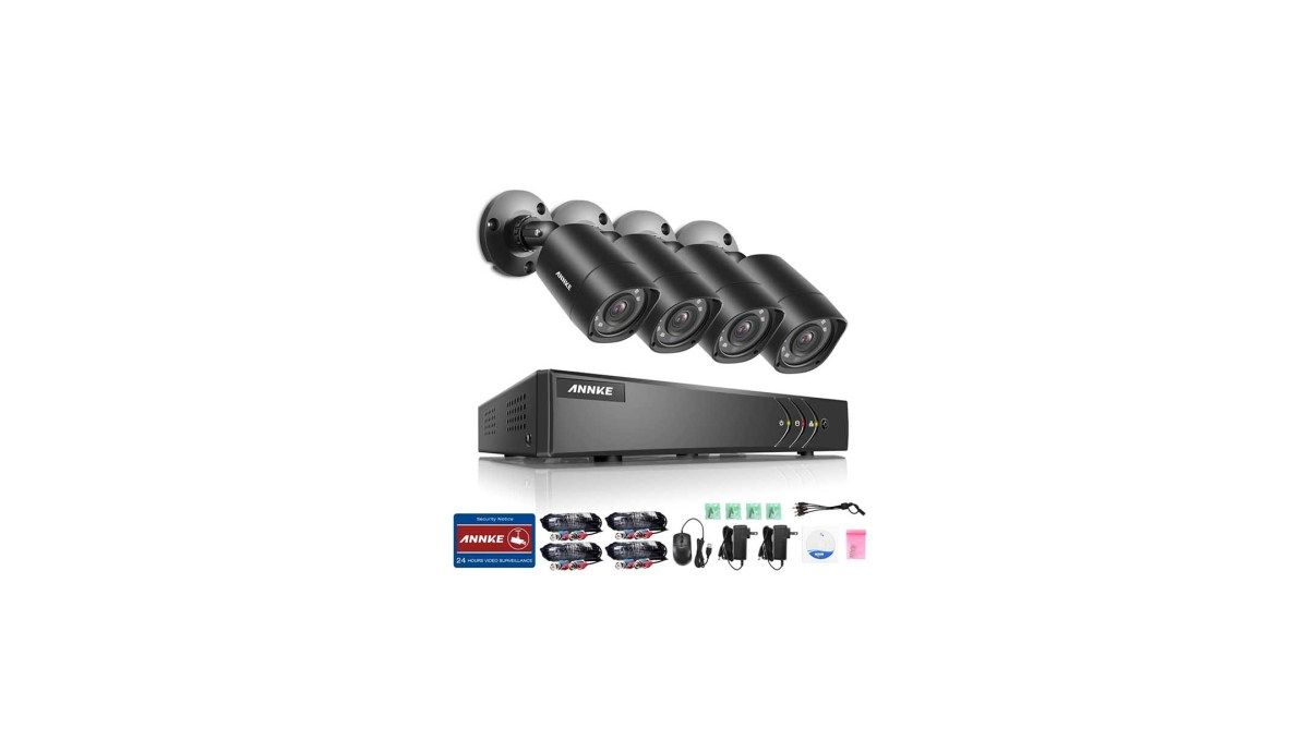 SANNCE ANNKE 8-Channel HD-TVI 1080P Video Security System