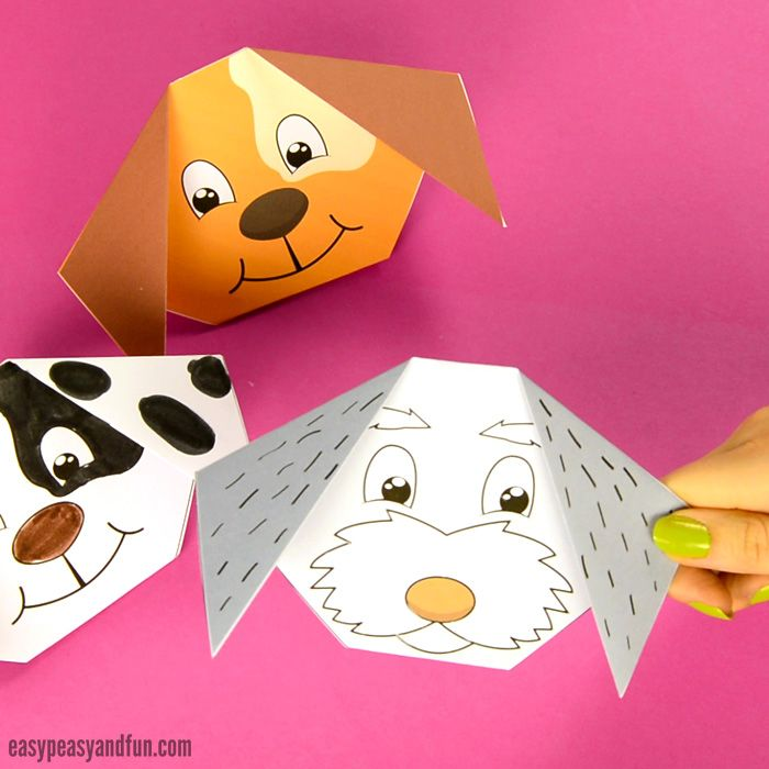 How To Make An Origami Dog (With Images) Easy Origami For Kids