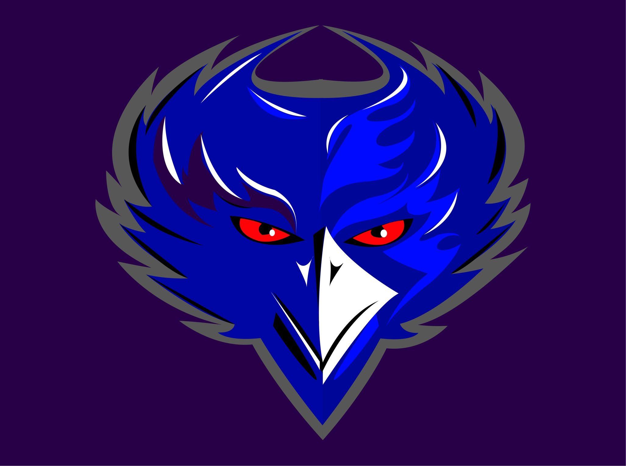Baltimore Ravens on iPad Graphic, Graphic design