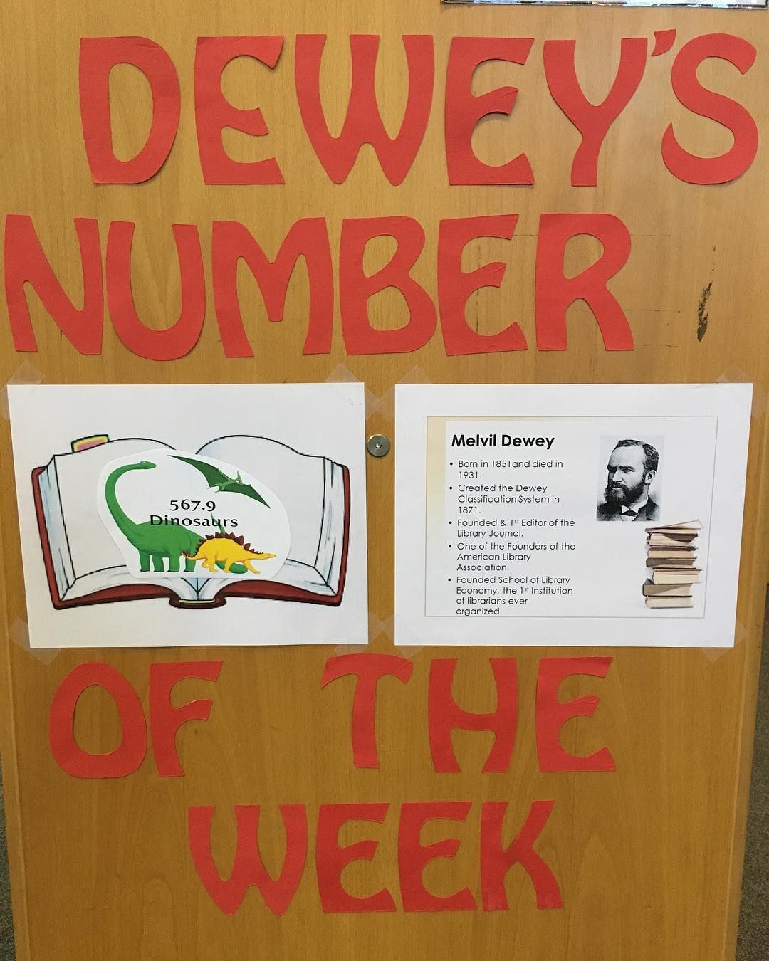 Introducing Dewey S Number Of The Week To Help Students