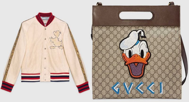 7dff0690c47 Gucci Donald Duck Capsule Collection