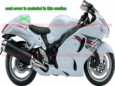 ABS Fairing for Suzuki GSXR1300 Hayabusa 08 14 tank pad