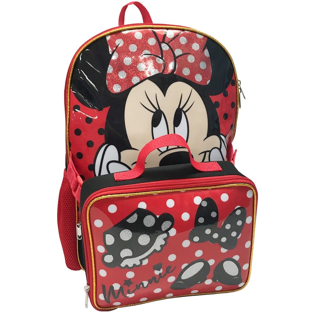8d58ab0d044 Disney s Minnie Mouse Kids Backpack   Lunch Bag Set