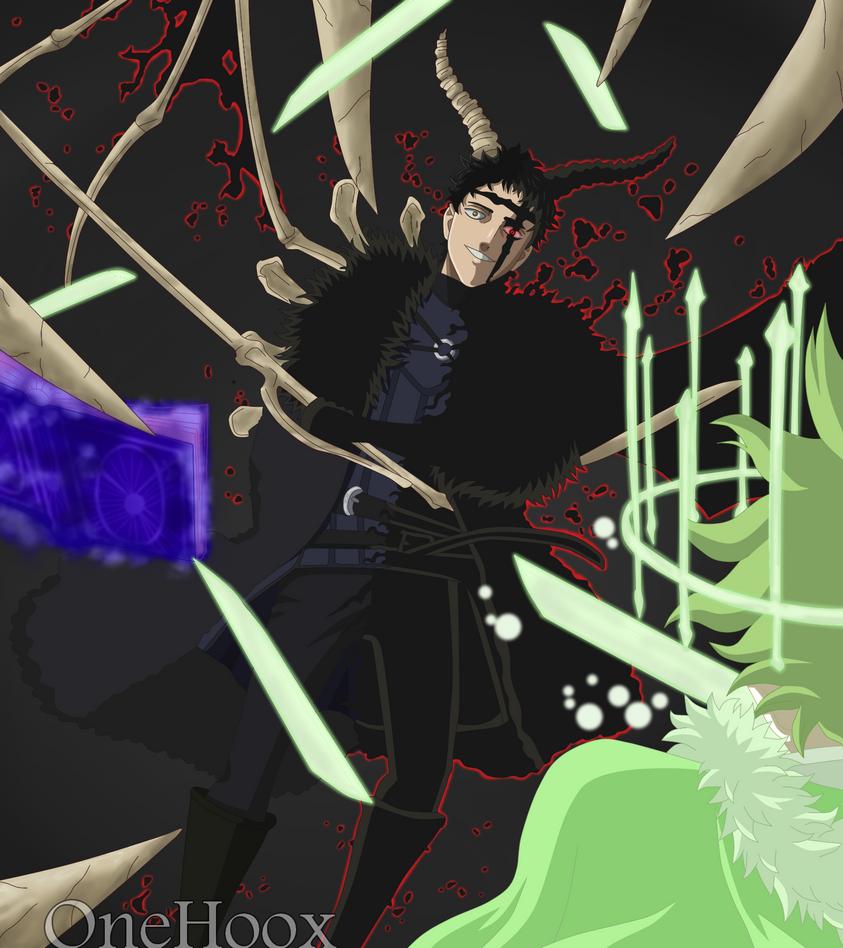 Black Clover 238im Just A Little Stronger Than You By Onehoox On Deviantart Black Clover Anime Clover Dark Anime
