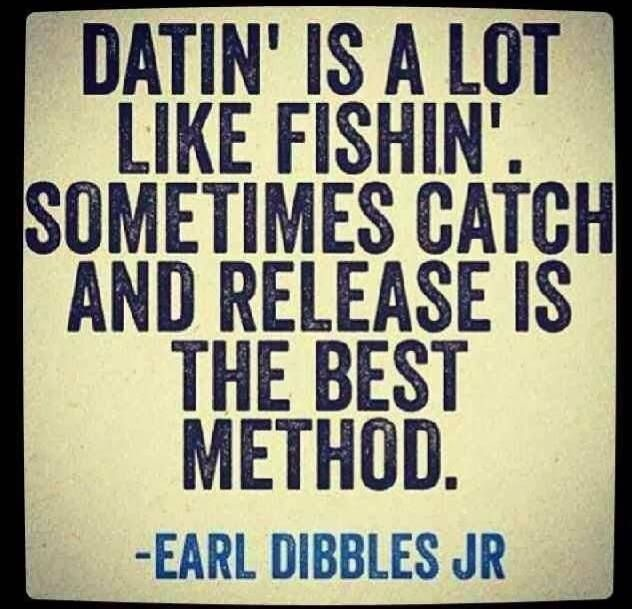 Plenty more fish in the sea dating