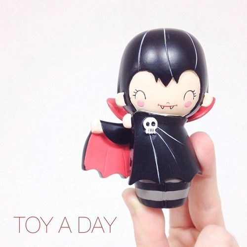 Toy a day #toy #toyaday #collection #collectibles #vampire #cute...