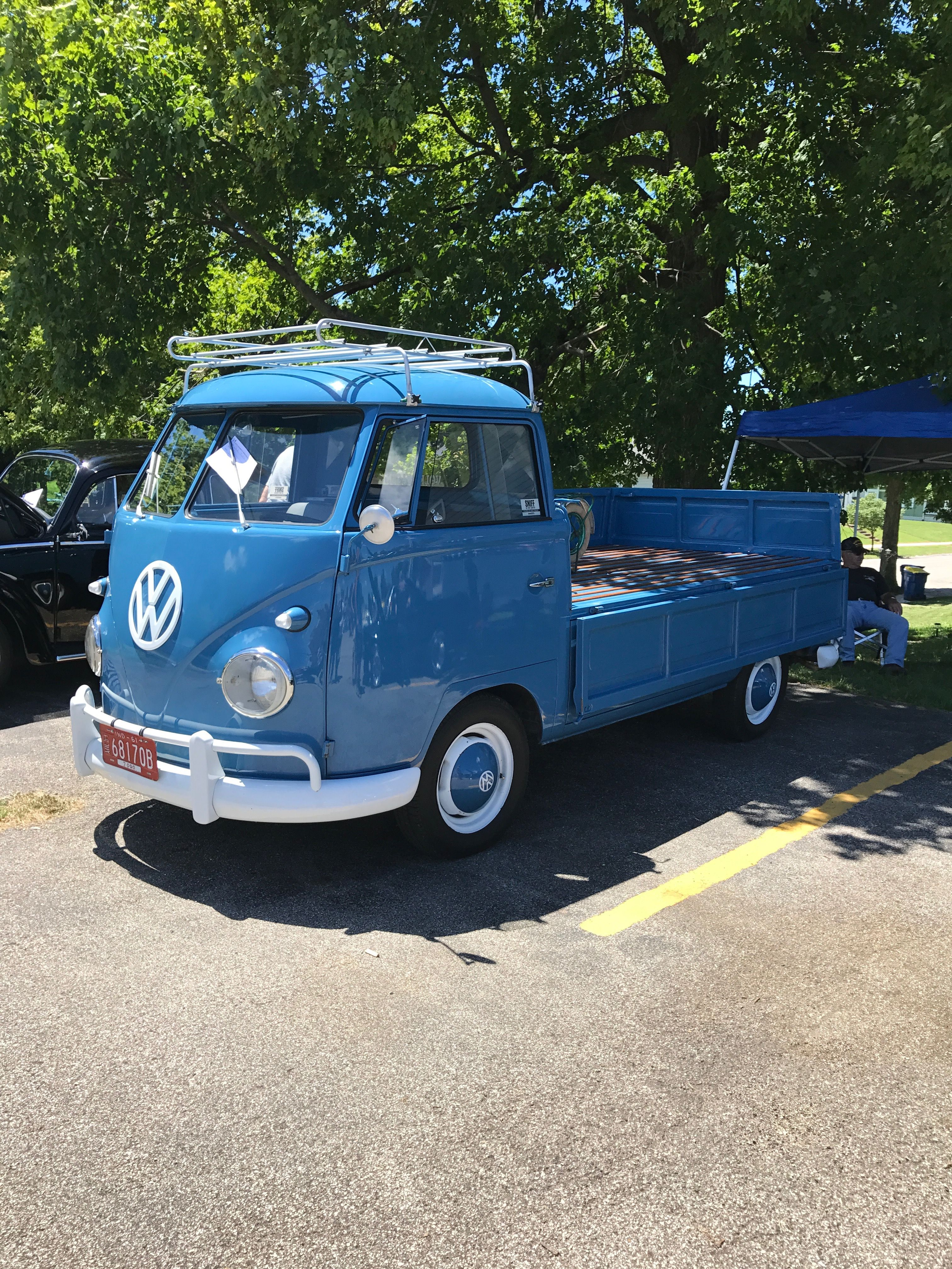 This was one of the unique vehicles in the car show put on by Butch ...
