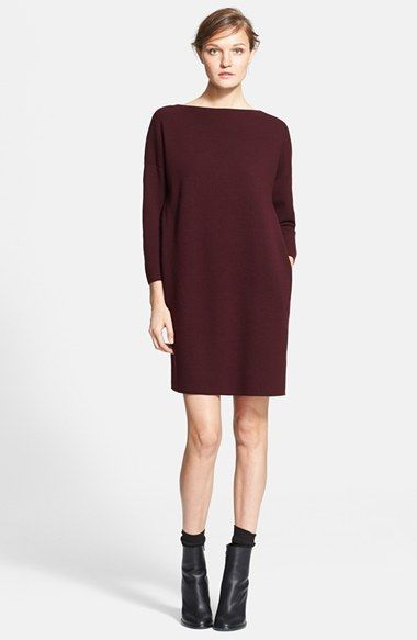 Vince Mixed Media Sweater Dress available at #Nordstrom