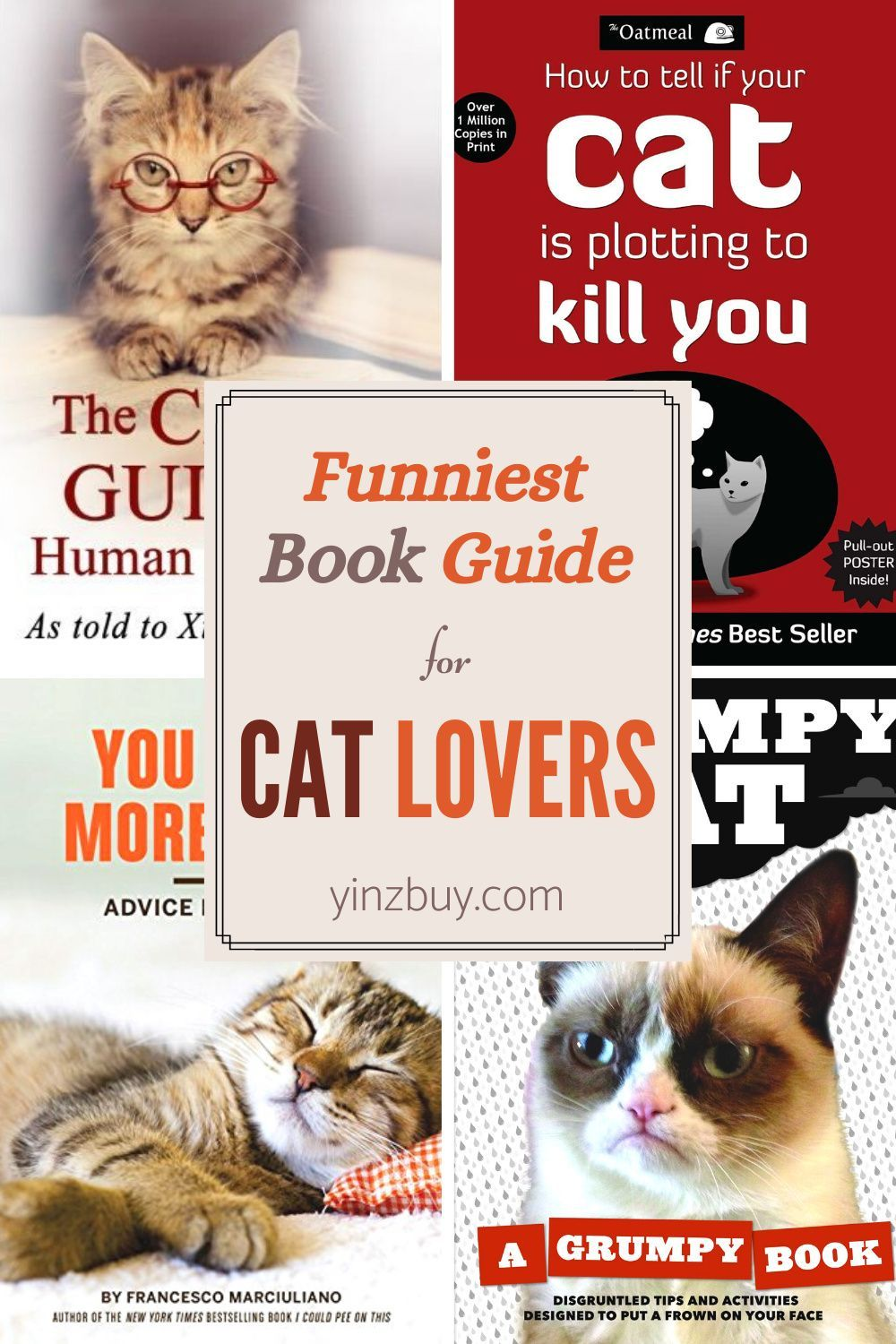 Cat Jokes And Humor The 10 Best Books For Cat Lovers Yinz Buy In 2020 Cat Jokes Cat Lovers Cat Gifts For Her