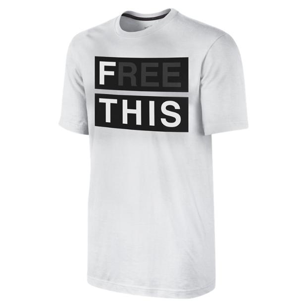 Libérer Cette Nike T-shirt
