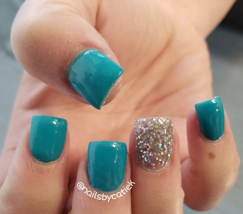 Turquoise And Lavender Acrylic Short Square Nails Cute Square Acrylic Nails Winter Nails Acrylic Short Square Nails