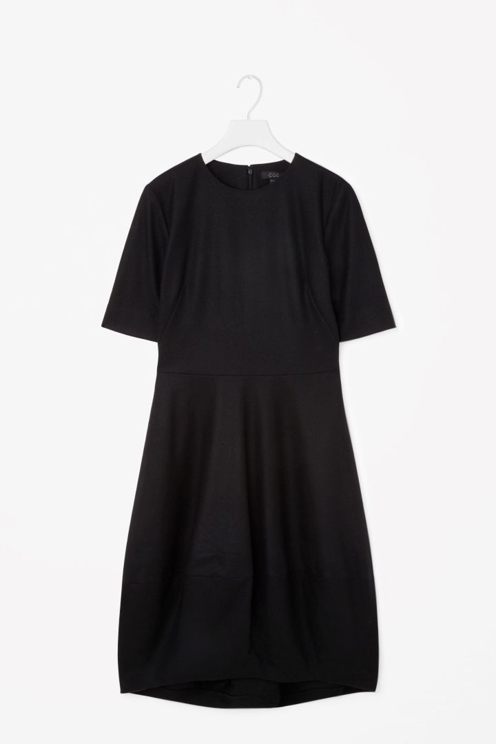 62530269bbc9b COS | Dress with cocoon skirt | Seemy closet | Dresses, Skirts, Fashion
