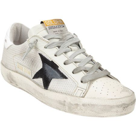 low priced ca608 50513 Golden Goose Distressed Superstar Sneakers at Barneys.com