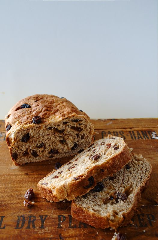 Bread Machine Cinnamon Raisin Bread Recipe